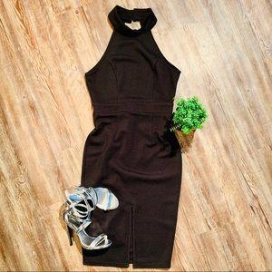 LULUS LITTLE BLACK OPEN BACK DRESS